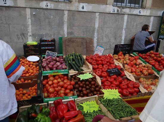 Montfaucon: The market comes on Fridays