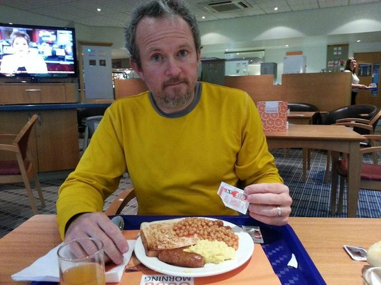 Holiday Inn Express Inverness: english breakfast