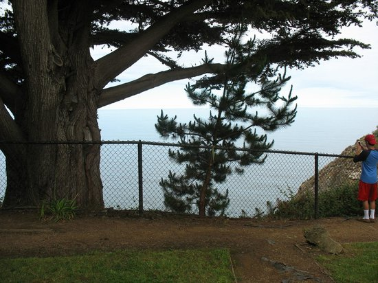 Ragged Point Inn and Resort: Unobscured View from Room 28