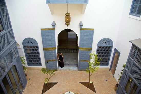 Riad Adore : Stunning entrance from Juliet balcony