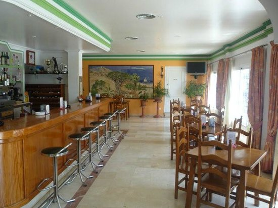 Hostal Drago: Salón comedor