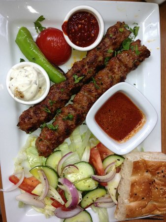 Shiraz Turkish BBQ restaurant: ADANA - a renowned dish from Southern Turkey