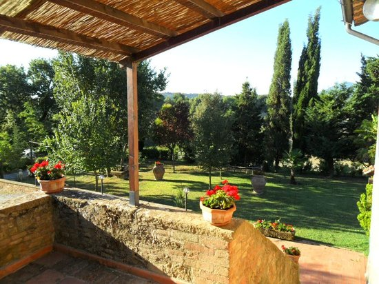 Bed & Breakfast Le Rondini: vista dalla terrazza