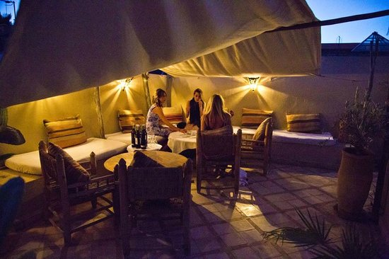 Riad Bel Haj: Rooftop