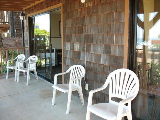 La Jolla Cove Hotel & Suites: Balcony of Terrace Room 233