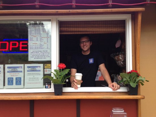 Olympic Gateway Espresso: What can we get for you today?