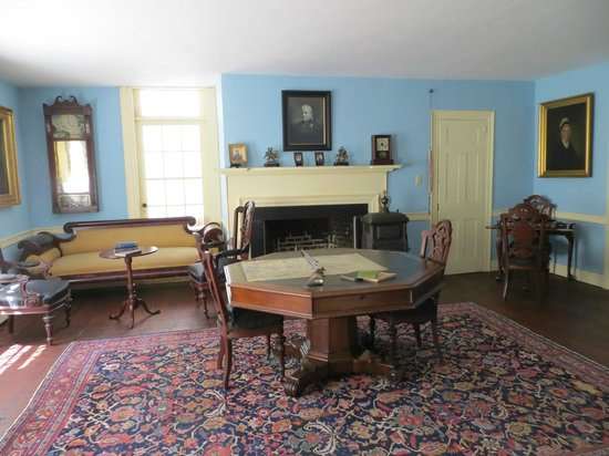 Kent Delord House Museum: The Blue Parlor