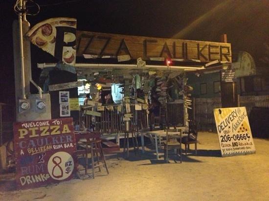 Pizza Caulker : Add a caption