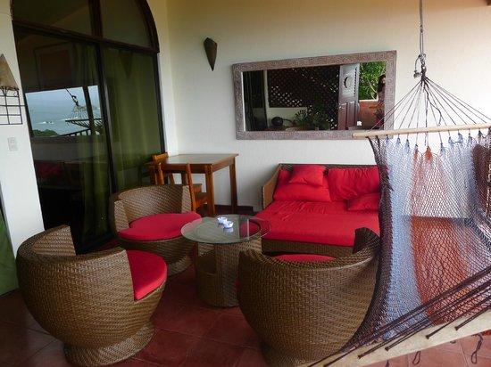 Hotel Villas El Parque: Le balcon.