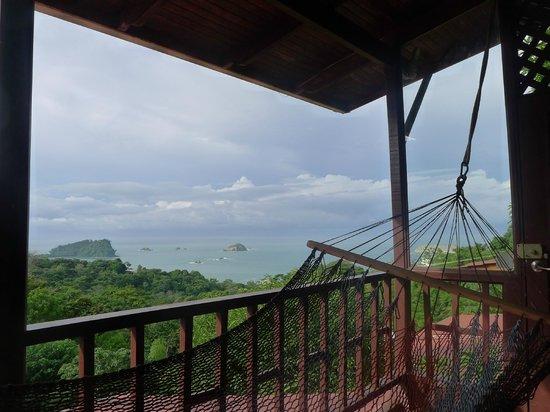 Hotel Villas El Parque: Vue depuis le balcon.