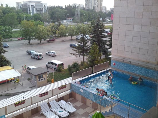 Hotel ATM Centre: view fron my room