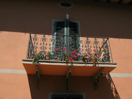 Hotel Villa Belvedere: Balcony