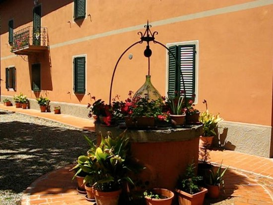 Hotel Villa Belvedere: Part of Garden