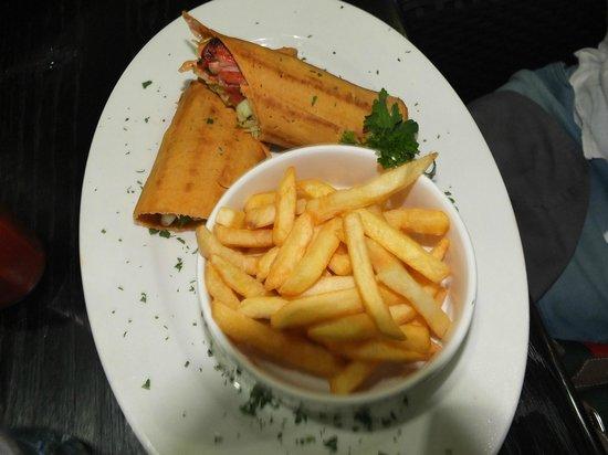 Karambezi Cafe: our order