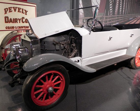 "Museum of Transportation: The ""Stanley Steamer"" car"