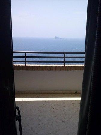Les Dunes Comodoro Hotel: VISTA DESDE EL SALON.