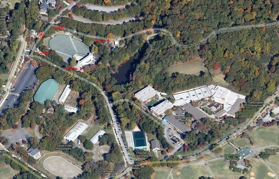 Chastain Park Amphitheater: Aerial View - Chastain