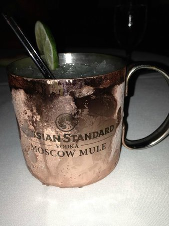 Red Square: Moscow mule