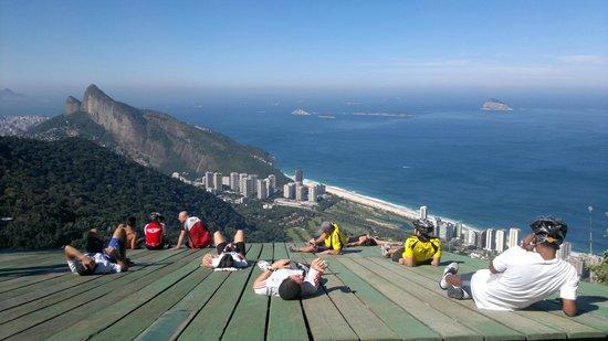 Subida a Pedra Bonita - Rio de Janeiro