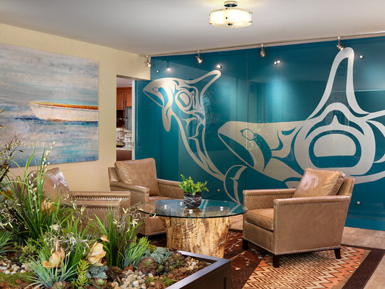 Best Western Plus Inner Harbour: Take a break in our lobby, with 24 Hour tea and coffee service