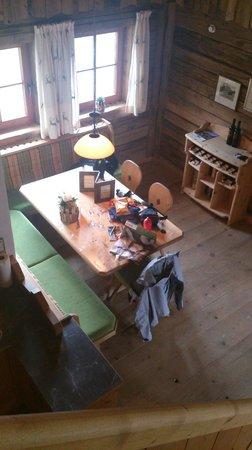 LaPosch Chalet Resort: Essplatz im Mountain Chalet