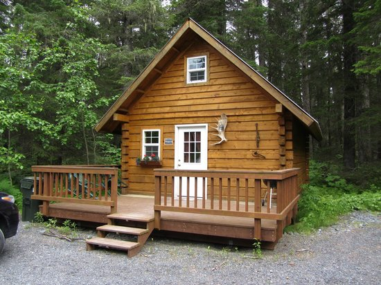 Salmon Creek Cabins: Our cabin (nr 4)