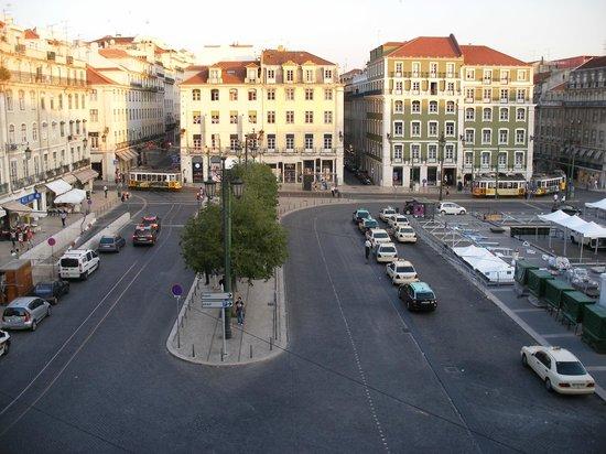 Pensao Praca da Figueira : View from 3rd floor window
