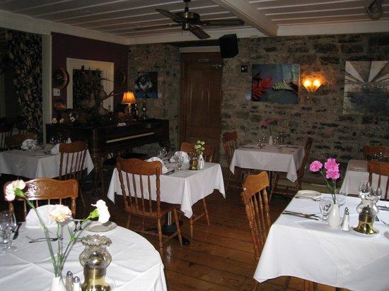 Auberge Baker: la salle de restaurant