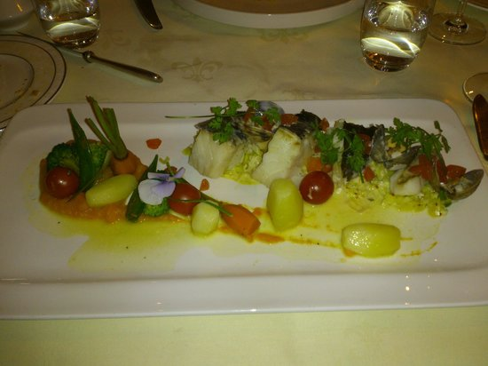 Au Bien Venu: trio of fish