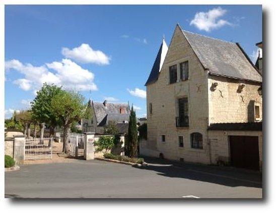 Facade Logis Saint Mexme B&B Loire Valley