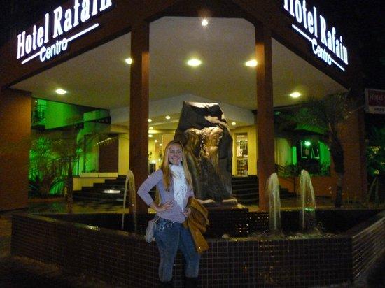 Hotel Rafain Centro: Entrada do Hotel