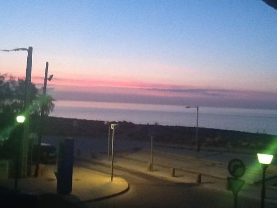 Hotel Pinomar: sunrise