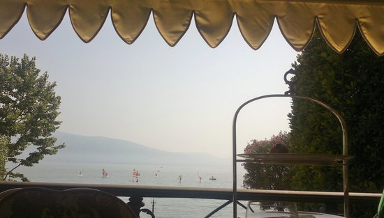 Grand Hotel a Villa Feltrinelli: amazing view of the lake