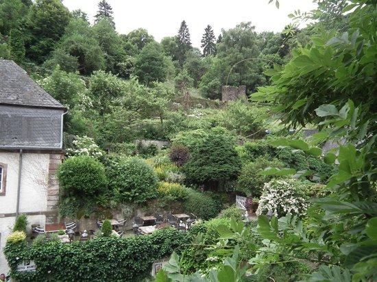 Hotel Heintz: Garden from Balcony