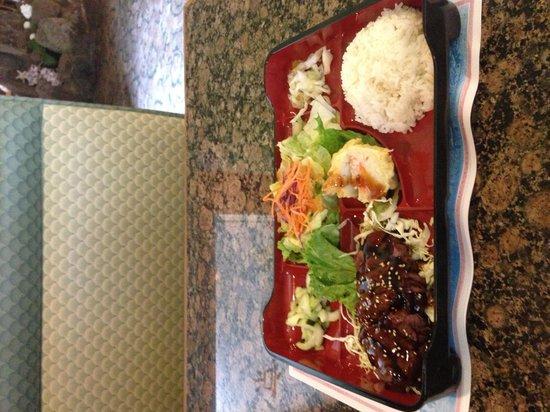 Visalia, CA: Teriyaki beef