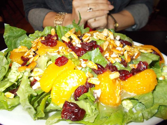 Embe: This delectable salad was a tasty treat!