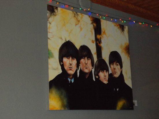 Embe: George, John, Ringo & Paul share your dining experience.