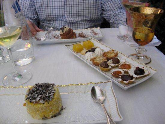 Ristorante Tre Marchetti: dissapointing dessert