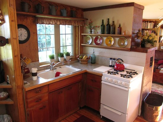 Hoedel's Homestead Cottage : kitchen
