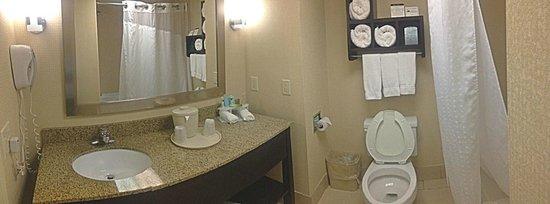 Holiday Inn Express Winston-Salem : King Executive Bathroom