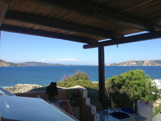 Villaggio Camping Acapulco : Best view from a kitchen sink ever!!