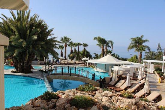 Mediterranean Beach Hotel Swimming Pools With Pool Bar