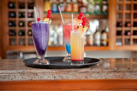 The SPA Retreat Boutique Hotel: Tropical Cocktails