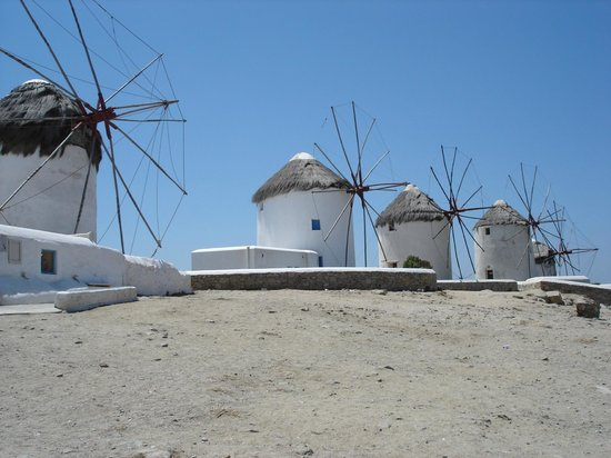 Adonis Hotel: Windmills of Mykonos