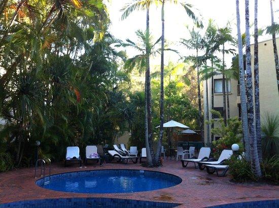 Ocean Breeze Resort: Piscine de l'hôtel