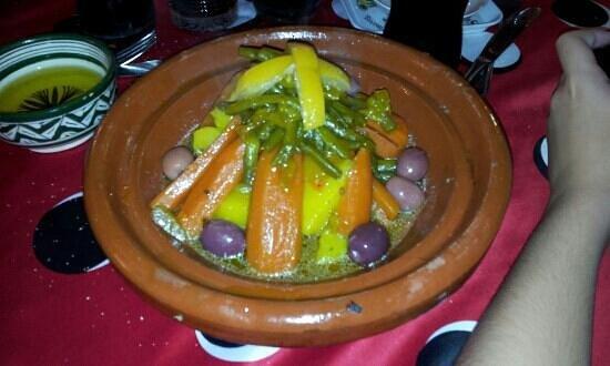 Chez Said: Vegetable tagine