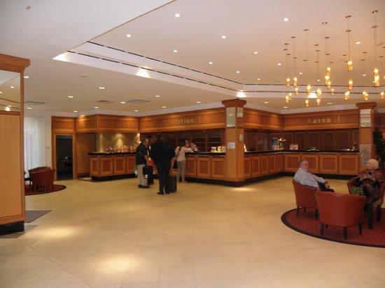 Austria Trend Hotel Bosei Wien: reception