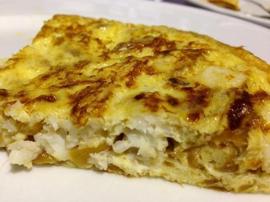 La Sifonería: Tortilla de Merluza