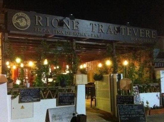 Rione Trastevere: ESPECTACULAR SITIO CON ENCATO