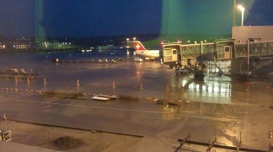 Zurich Airport Transit Accommodation: View from room